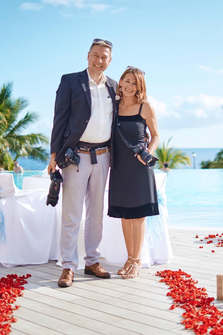 Bei einer Überraschungsverlobung mit anschließendem Paarshooting entstand dieses Bild in einem 5-Sterne-Hotel an der Costa Adeje