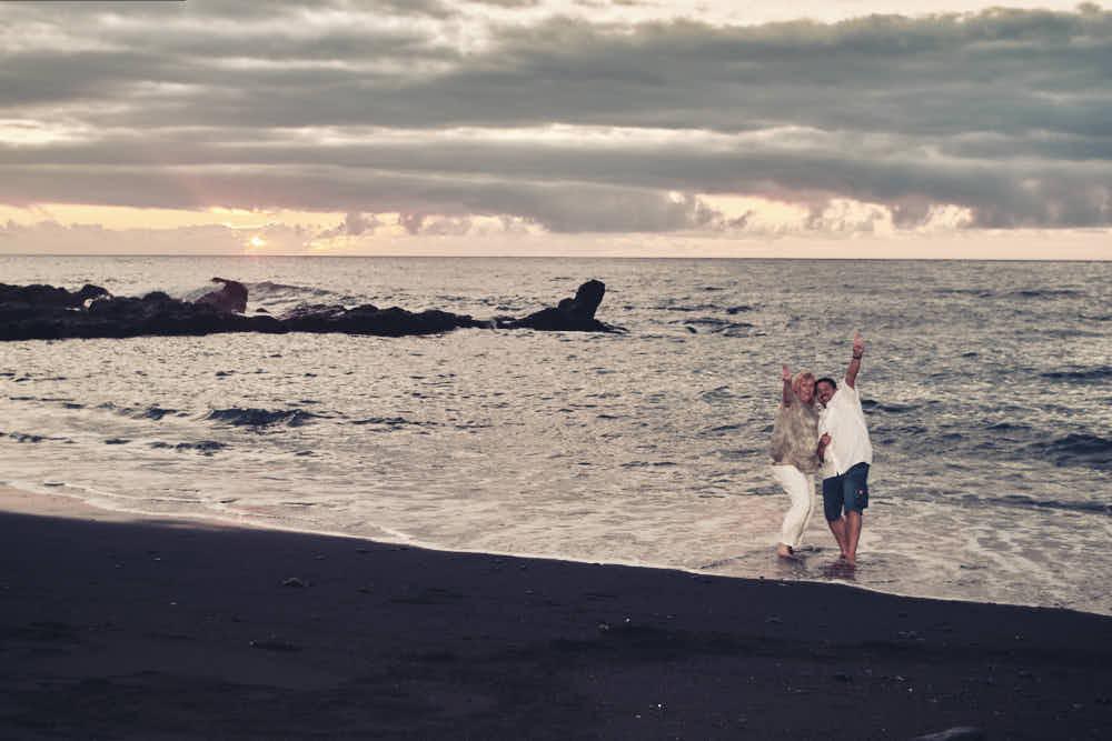 Im Urlaub auf Teneriffa ein Strand Shooting buchen und professionelle Bilder bekommen, das ist Livestyle