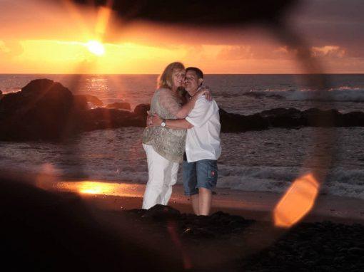 Fotoshooting für ein Paar zur Silbernen Hochzeit