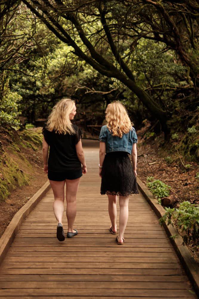 Gemeinsamer Urlaub zweier Freundinnen - Shooting ist Livestyle