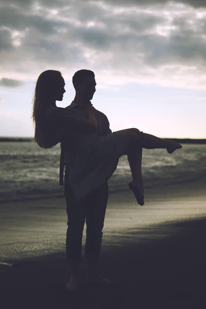 Ein Paarshooting am Strand mit Ela und Chris
