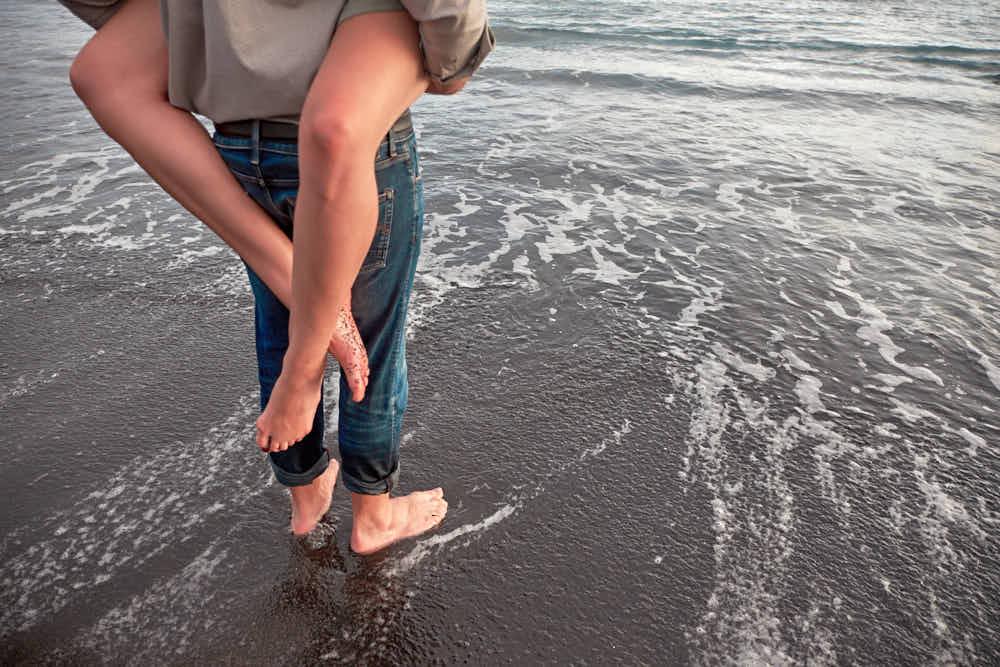 Am Strand an der Costa Adeje Bilder mit Deutscher Fotograf Kanaren