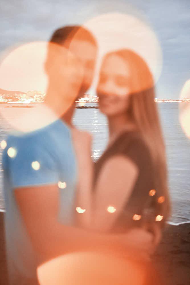Ela und Chris machen romantische Bilder im Hamilton Look auf Teneriffa