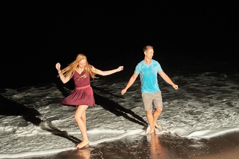 Romantische Bilder mit Deutscher Fotograf Teneriffa an der Playa del Duque