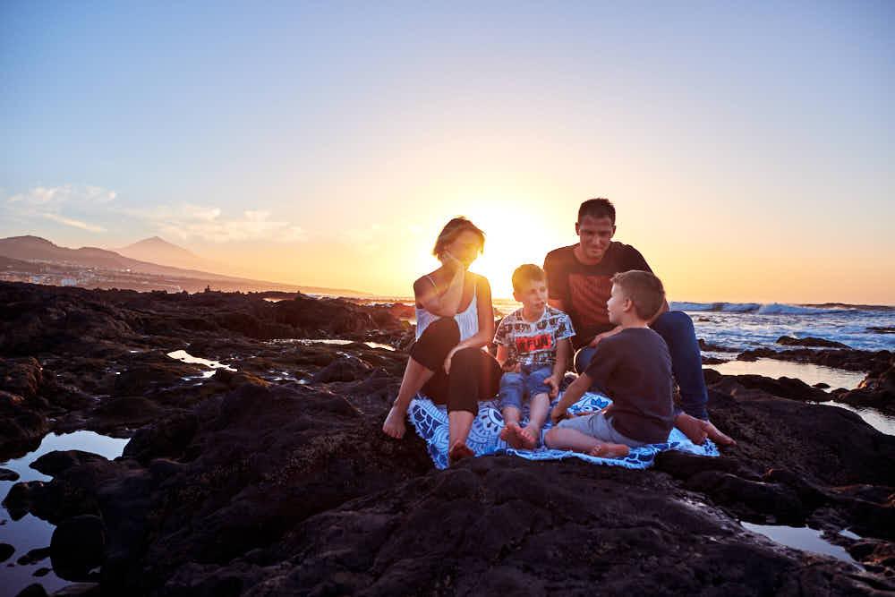 Fotograf Ela & Chris fotografiert Familien Bilder auf Teneriffa in La Laguna und Anaga Gebirge Punta de Hidalgo