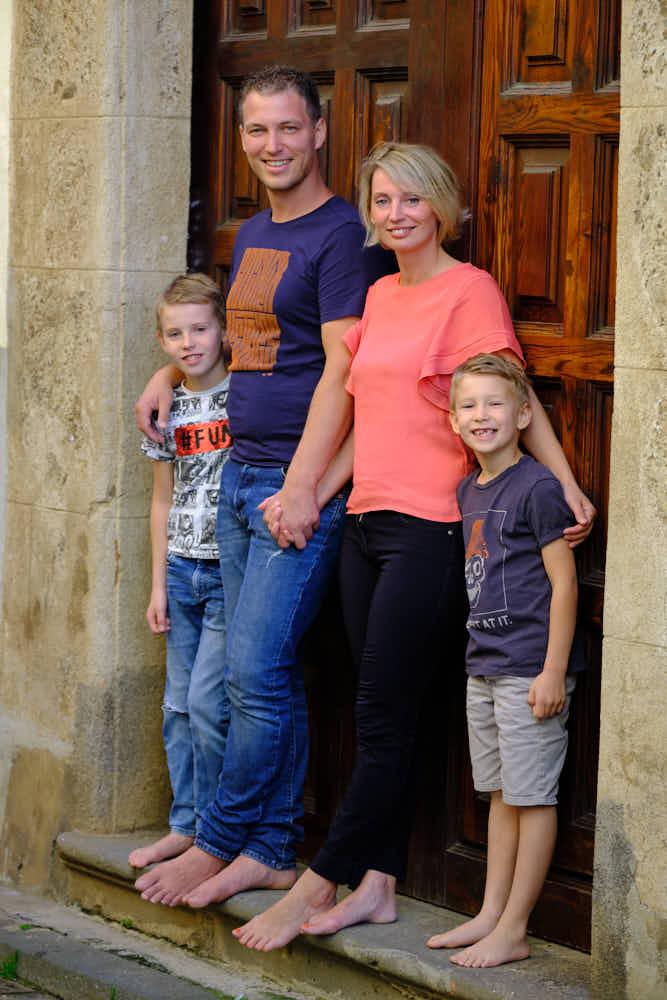 Familie beim Fotoshooting von Deutscher Fotograf Ela und Chris auf Teneriffa und Gran Canaria