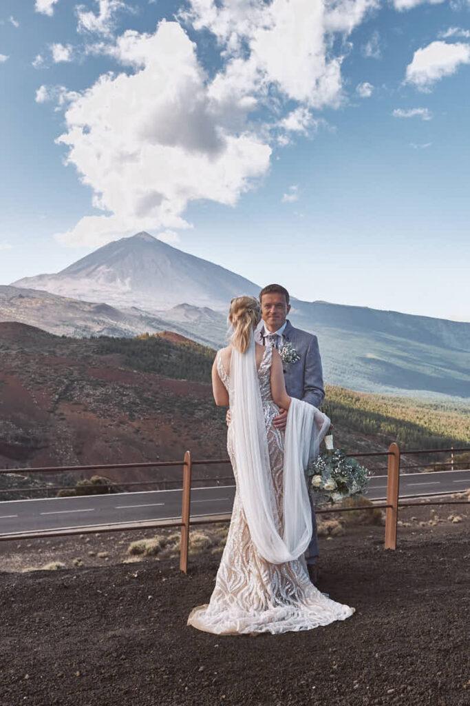 Deutscher Fotograf Ela und Chris auf Teneriffa fotografieren Hochzeitsreise und Afterwedding auf den Kanaren