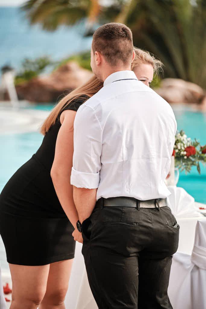 Heiratsantrag mit Deutscher Fotograf Ela und Chris war erfolgreich - sie sind verlobt