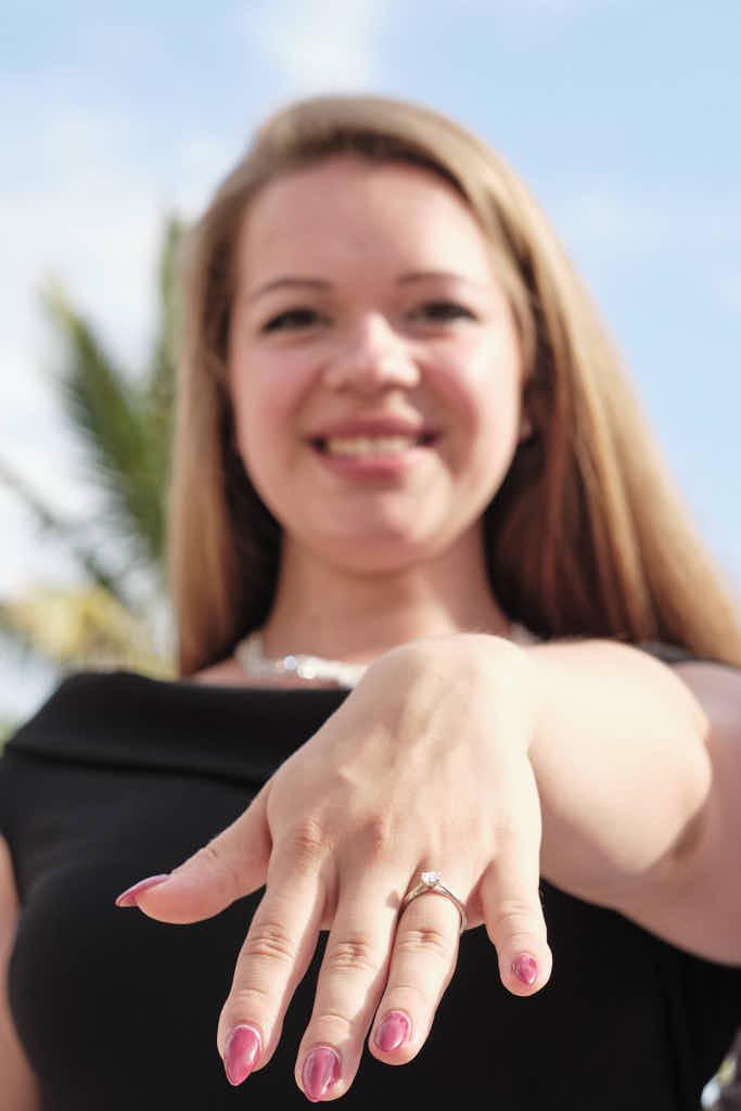 She said yes! Der Heiratsantrag mit Deutscher Fotograf Ela und Chris als Fotograf auf Teneriffa hat geklappt