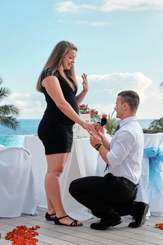Heiratsantrag auf Teneriffa wird von Deutscher Fotograf Ela und Chris als Überraschung Verlobung fotografiert