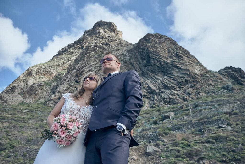 Hochzeitsreise und Afterwedding macht als Fotoshooting Fotograf Ela und Chris auf Teneriffa und den kanarischen Inseln