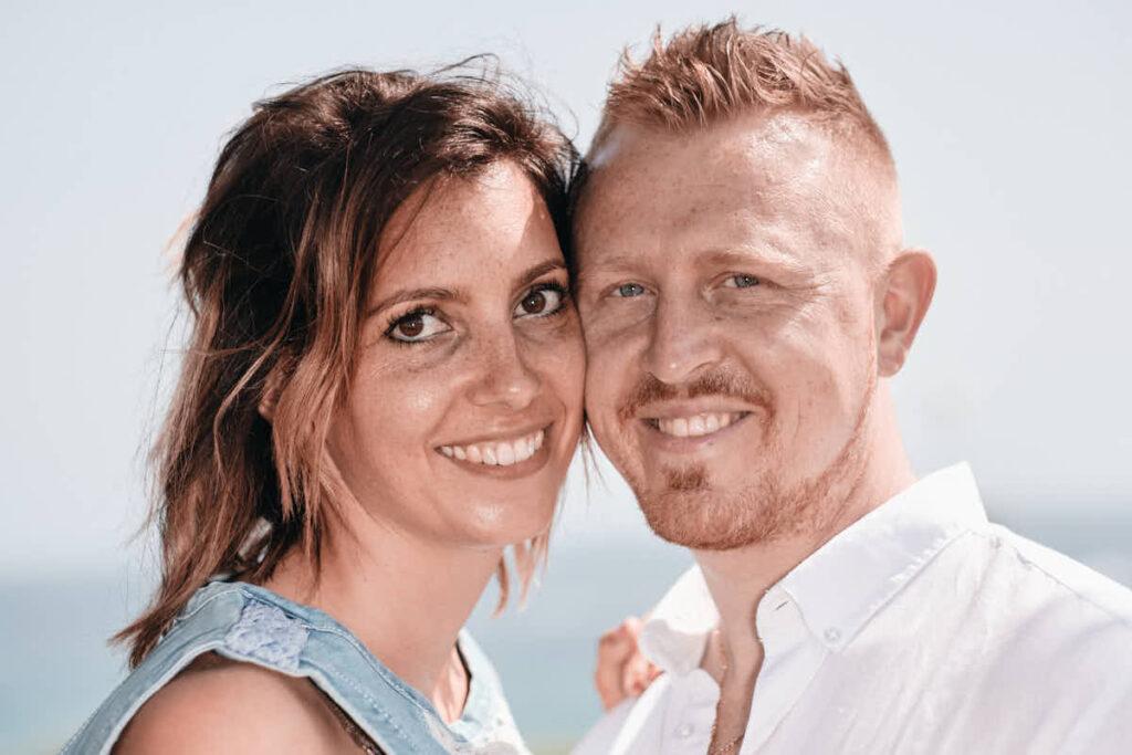 Deutscher Fotograf Ela und Chris Teneriffa portraitiert die Eltern beim Fotoshooting Familie im Urlaub