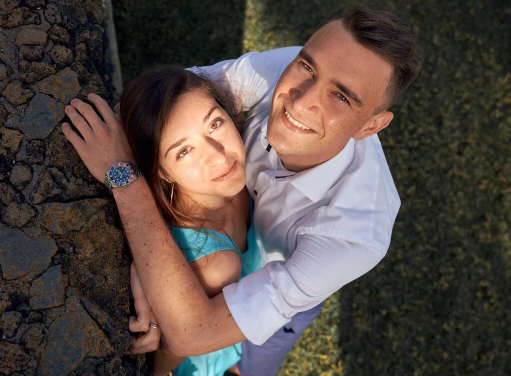 Ein Paarshooting mit dem ZDF ist in der Mediathek über Fotograf Ela und Chris Teneriffa