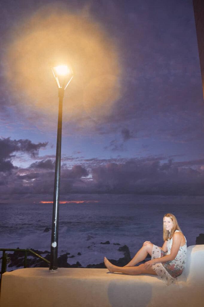 Deutscher Fotograf Ela & Chris macht Paar Fotos auf Teneriffa in Puerto de la Cruz an der Playa de Jardin