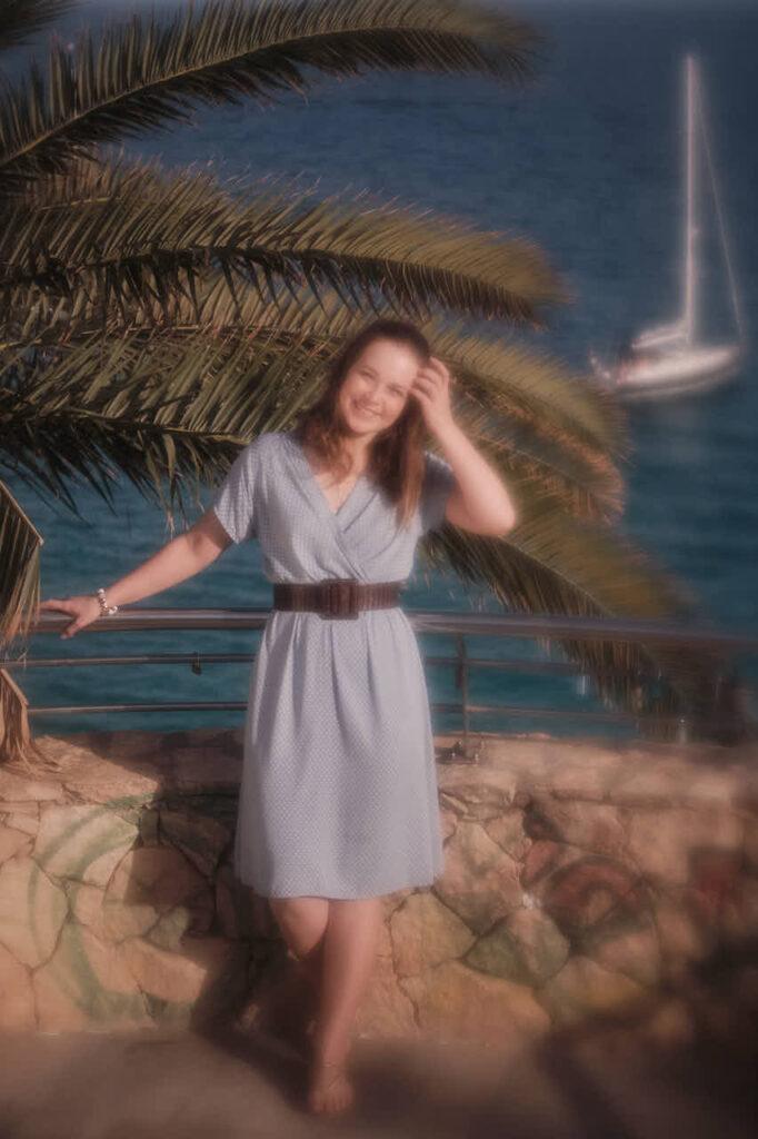 Beim Fotoshooting auf Fuerteventura macht Deutscher Fotograf Ela & Chris Freundinnen Fotos in Morro Jable in David Hamilton Blur barfuss